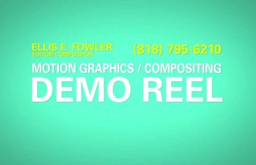 Compositing/Motion Graphics Reel