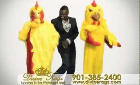 Divine Rags Chicken-head