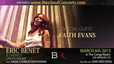 Eric Benet & Friends Concert Promo