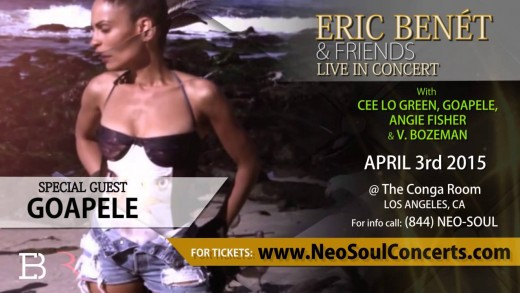 Eric Benet & Friends Promo 2