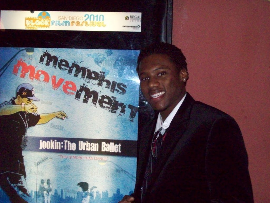 Poster at the San Diego Black Film Festival